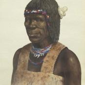 Sold |Bhengu, Gerard | Portrait Study