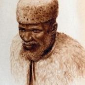 Sold | Bhengu, Gerard | Portrait of Zulu chief