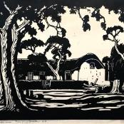 Pierneef, J.H |Twee jonge gezellen. KP, dated 1931