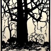 Pierneef, J.H | Wilkerboom Winter, dated 1954