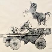 Jaroszynska, Karin | Man, horse and cart
