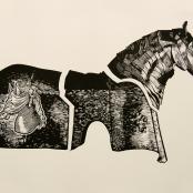 Painting, Paul   Cavalry