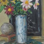Sold  Boonzaier, Gregoire   Flowers in vase