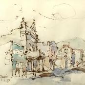 Sold | Boonzaier, Gregoire | District six-1978, with figures