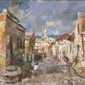 Sold   Boonzaier, Gregoire   Street Scene