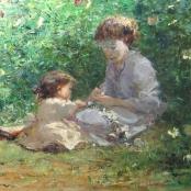 Sold |Boshoff, Adriaan | Mother with Daughter