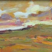 Sold |Boshoff, Adriaan | Sunset Landscape