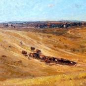 Sold | Boshoff, Adriaan | Cattle in the Field