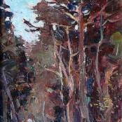 Sold | Boshoff, Adriaan | Figure in the woods