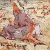 Sold | Boshoff, Adriaan | Sitting on the beach