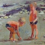 Sold | Boshoff, Adriaan | Kids on a beach