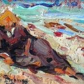 Sold | Boshoff, Adriaan | Relaxing on the beach