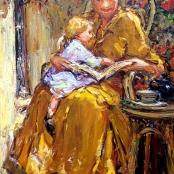 Sold | Boshoff, Adriaan | On mothers lap