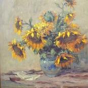Sold |Boshoff, Adriaan | Sunflowers