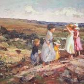Sold |Boshoff, Adriaan | Mother with Children