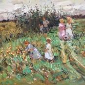 Sold | Boshoff, Adriaan | Family in the field
