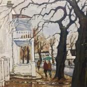 Sold | Botha, David | Twee Eikebome, Kerk straat