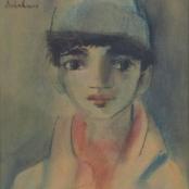 Sold |Buchner, Carl | Portrait Study