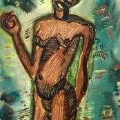 Preller, Alexis | Portrait of an Africa lady