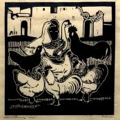 Pierneef, J.H | Ducks and Chickens