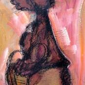 Sold |Claerhout, Frans | Walking Figure