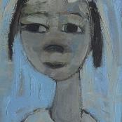 Sold |Claerhout, Frans | Girl figure