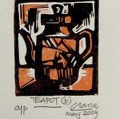 Sold   Clarke, Peter   Teapot
