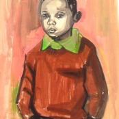 Sold | Clarke, Peter | Portrait of a boy