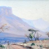 Sold | Coetzer, W.H | 2 Figures in a landscape