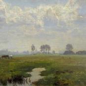 Sold |Oerder, Frans | Farm Landscape