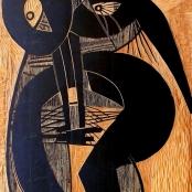 Skotnes, Cecil | Lady figure ( Recto)