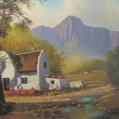Sold | De Jongh, Gabriel | Farm landscape