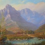 Sold | De Jongh, Gabriel | Cape Landscape