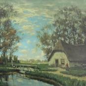 Sold| De Jongh, Tinus | Landscape