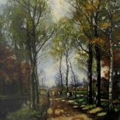 Sold |De Jongh, Tinus | Tree Landscape