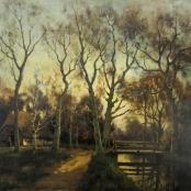 Sold  De Jongh, Tinus   Sunset in Landscape