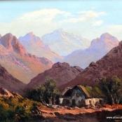 Sold | de Jongh, Tinus | Landscape