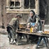 Sold   de Jongh, Tinus   At the Market
