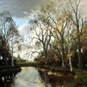 Sold   De Jongh, Tinus   Ducks in a pond