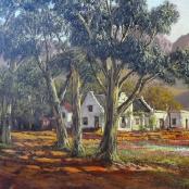 Sold   De Jongh, Tinus   Farm landscape