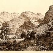 Sold   De Jongh, Tinus   Seven weeks poort, Landscape