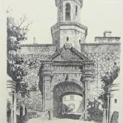 Sold  De Jongh, Tinus   Castle Entrance Cape
