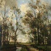Sold   de Jongh, Tinus   Sand pathway next to river
