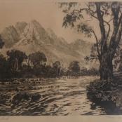 Sold | De Jongh,Tinus |Tree landscape