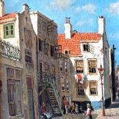 Sold   De Jongh, Tinus   Street Scene