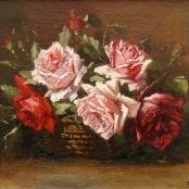Sold   De Jongh, Tinus   Still life of Roses