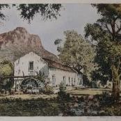 Sold| De Jongh, Tinus | Old mill Ceres