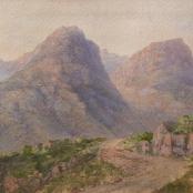 Sold | De Smidt, Abraham | Mountainous landscape