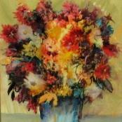 Sold   Dingemans, Jan   Flowers in vase