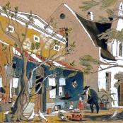 Sold | Dixon, Leng | Bo-Kaap Street scene